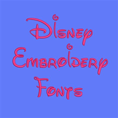 disney embroidery fonts  sizes machine embroidery font pes