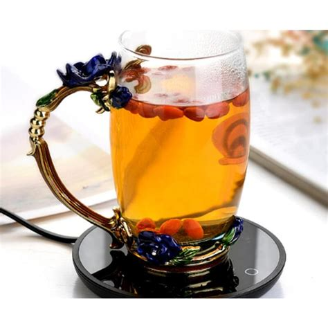 These are equipped with heating coils that heat up and warms your beverage. Smart Warm Coaster Electric Heating Tea Warmer Smart ...