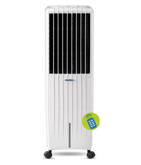 best fan for small room symphony 22 ltr diet 22i air cooler with remote for