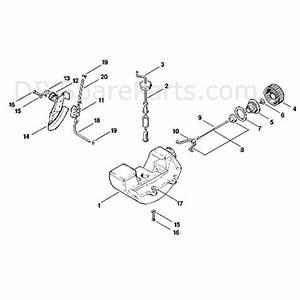 Stihl Fs 80 Brushcutter  Fs80e 4112   Parts Diagram  D
