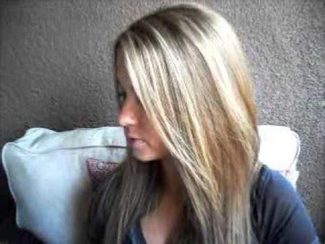 diy     dark brown  blonde hair color youtube