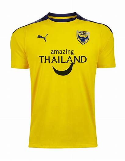 Oxford United Kit Kits Puma Jersey Camisas