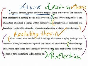 Literary Essay Introduction And Conclusion English