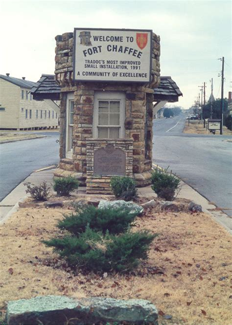 fort chaffee adjacent to fort smith arkansas no longer a