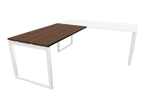 bureau 90 cm de large mt7 elegance fixe retour de bureau à 90 l160 cm