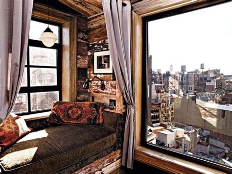 zach braff created rustic warmth   nyc apartment