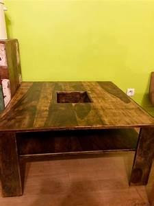 Recyclage Objet Rcupe Objet Donne Table Basse En Bois