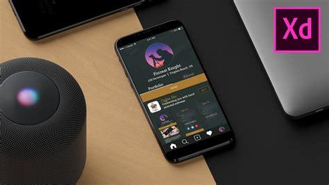 design prototype  mobile app adobe xd tutorial