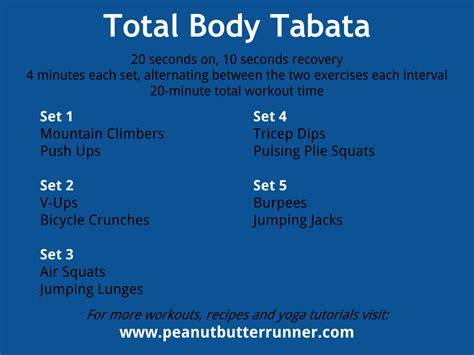 Tabata Tuesday Minutes Bodyweight Strength Cardio