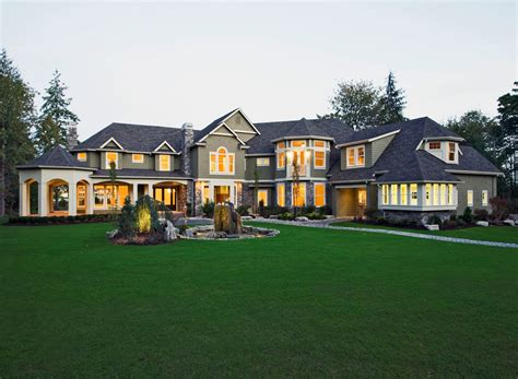 large luxury home plans craftsman style house plan 5 beds 5 50 baths 7400 sq ft