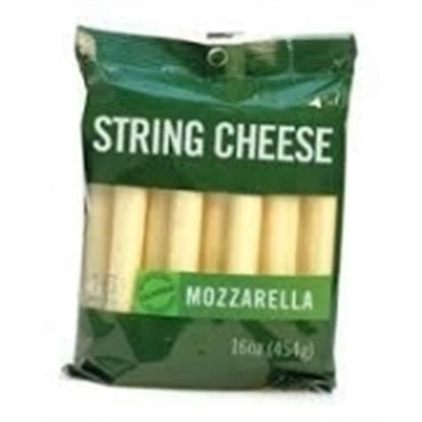 string cheese light calories nutrition analysis more