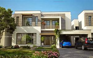 beautiful modern house 1 kanal lahore fachadas With amazing plan maison gratuit 3d 17 maison de ville avec patio