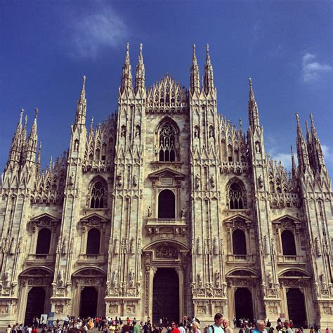 Architecture In Milan Italy Europe And Yonder