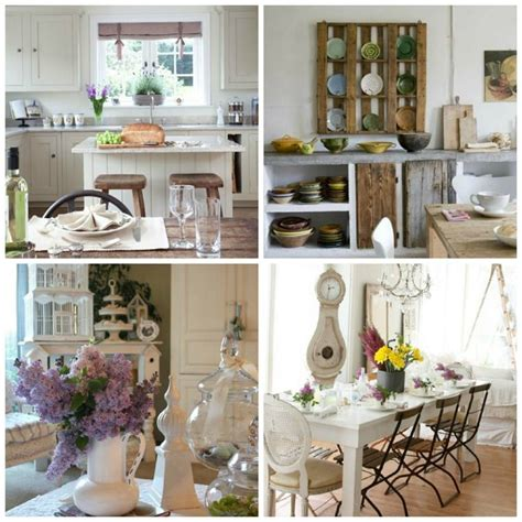 deco cagne chic cuisine style shabby chic maison