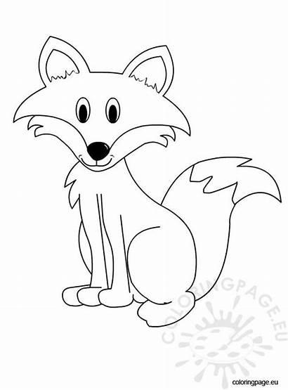 Coloring Fox Sheet Animal Ausmalbilder Ladybug Malvorlagen