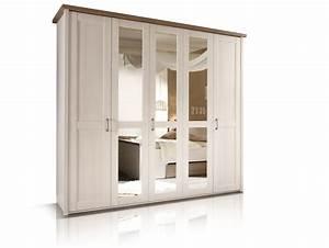 Kleiderschrank Pinie Weiß : lucy dreht renschrank kleiderschrank 5trg pinie wei tr ffel ~ Frokenaadalensverden.com Haus und Dekorationen