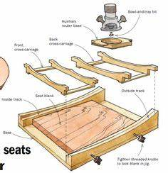 Chair Seat Scooping Jig - Woodworking Tips and Techniques