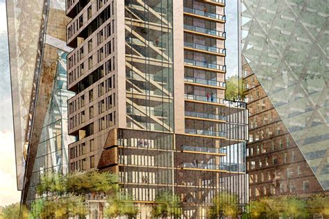 Poltrona A Dondolo Tower Wood : Dc Architects Envision Timber Skyscraper For Philly