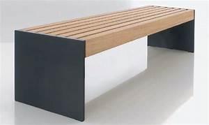 Banc Design Interieur : norcor produits bancs publics en bois ~ Teatrodelosmanantiales.com Idées de Décoration