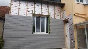 Isolation Extérieure Bardage : isolation ext rieure bardage nos r alisations sarl hervy ~ Premium-room.com Idées de Décoration