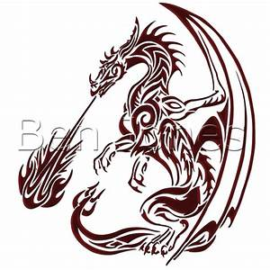 Easy Fire Breathing Dragon Drawings - Great Drawing