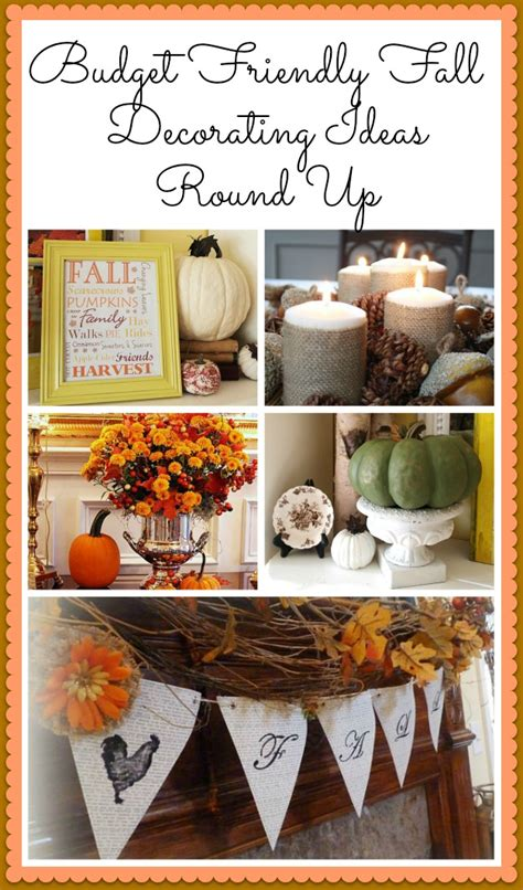 inexpensive fall decorating ideas simple budget friendly diy fall decorating ideas