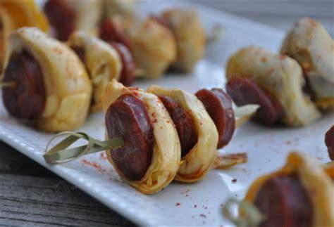la cuisine d audinette brochettes chorizo artichaut pour l 39 apéro dans la
