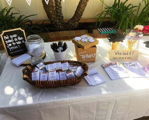 bridal shower games  ideas  guests  love