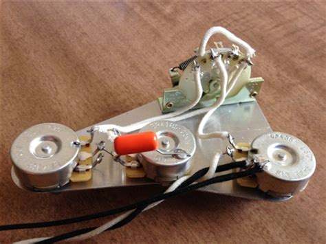 Upgrade Wiring Harness For Fender Stratocaster Cts Load