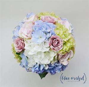 Hydrangea Bouquet - Garden Style Bouquet, Bridal Bouquet ...