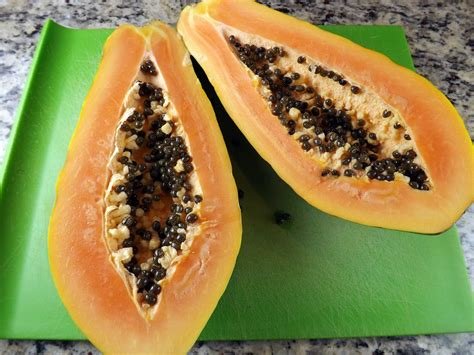 how to cut a papaya how to cut a papaya perennial pastimes