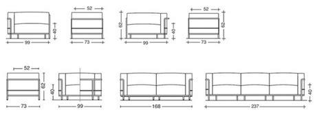 dimensions canape 3 places fauteuil lc3 le corbusier canap 233 lc3 le corbusier canap 233 lc33 cassina authentics design