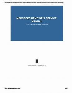 66b47 2015 C230 Service Repair Manual