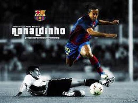 ronaldinho mega dribbling skills  hd youtube