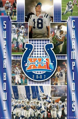 Indianapolis Colts Super Season Xli Action Images 2007