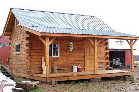 Small Home Kits Tn by Cabin Pre Built Cabins And Than Relocated Setting