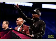 Full Sized Photo of floyd mayweather conor mcgregor press