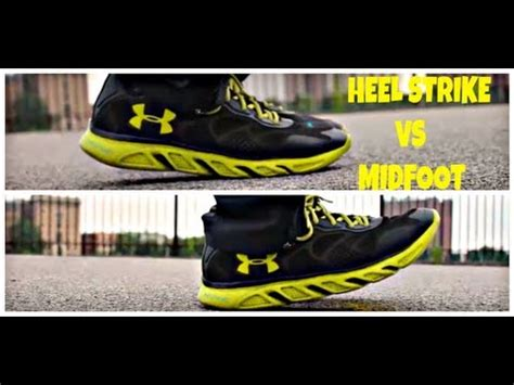 running form  beginners heel strike  midfoot