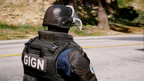 siege https gign doc from r6 siege add on replace gta5 mods com