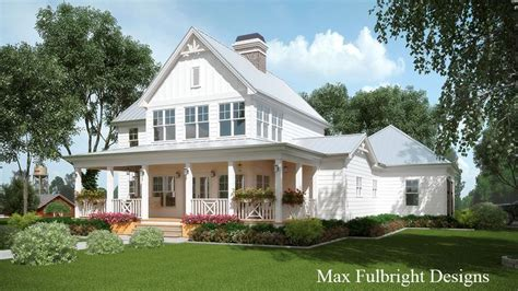 story house plan  covered front porch house plans