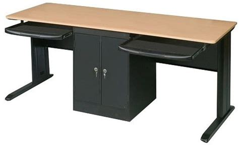 two person office desk computer desk for two people two person office desk