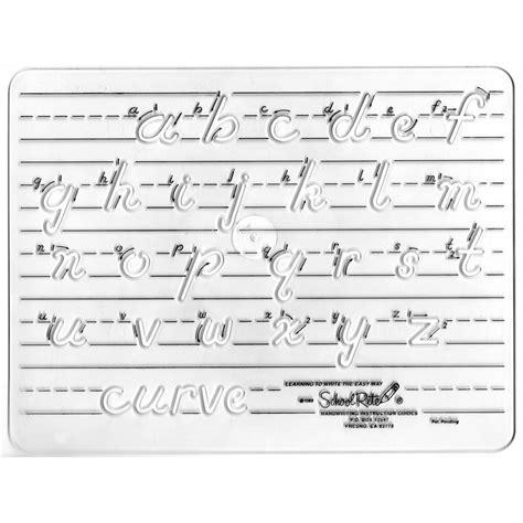 Manuscript Template by Template Transitional Manuscript Lower 1 Letters