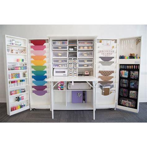 25 best ideas about craft cabinet on craft armoire scrapbook storage and craft storage