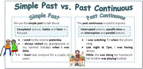 Diferencias Entre Past Simple Y Past Continuous Diferenciaseu🥇