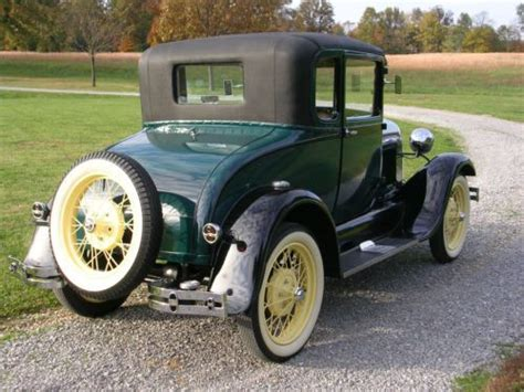 sell   ford model  special coupe  rumble seat
