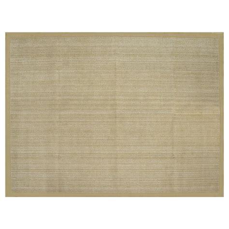 allen roth rugs shop allen roth northbridge bay natural rectangular indoor handcrafted area rug common 8 x