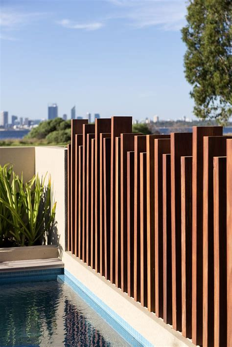 pool fencing styles add interest to any fencing with different levels designed and built by urbane projects perth