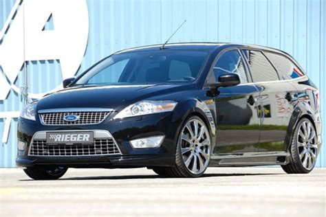 ford tuning ford mondeo combi by rieger tuning news gallery top speed