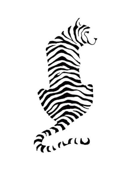 Trendy tattoo dog outline black 45+ Ideas #tattoo | Cat silhouette tattoos, Tiger silhouette