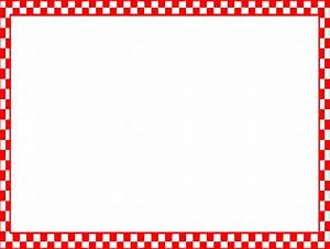 Red Check Borders Clipart - Clipart Suggest